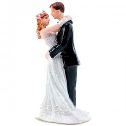 Bryllupsfigur brudepar 12,5 cm