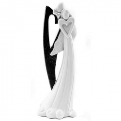 Brudepar bryllupsfigur design 2.