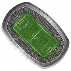 Tallerken fodbold stadium. 8 stk