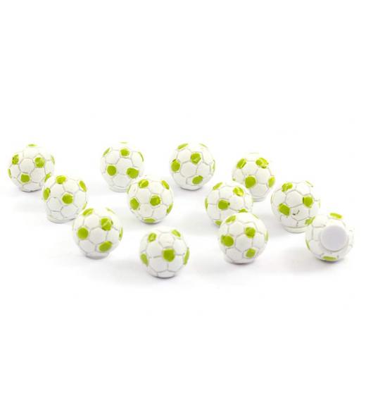 Håndbold lime 1,5 cm. 12 Stk.