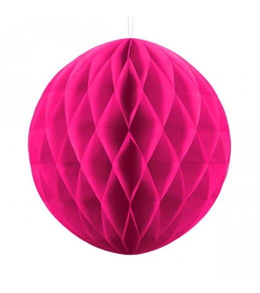 Pink Honeycomb 30 cm