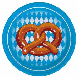 Tallerken Oktoberfest 18 cm. 8 stk.