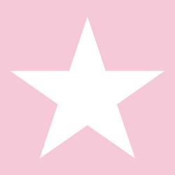 Frokostserviet Star light lyserød