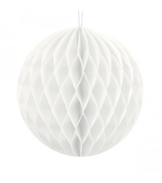 Hvid Honeycomb. 30 cm
