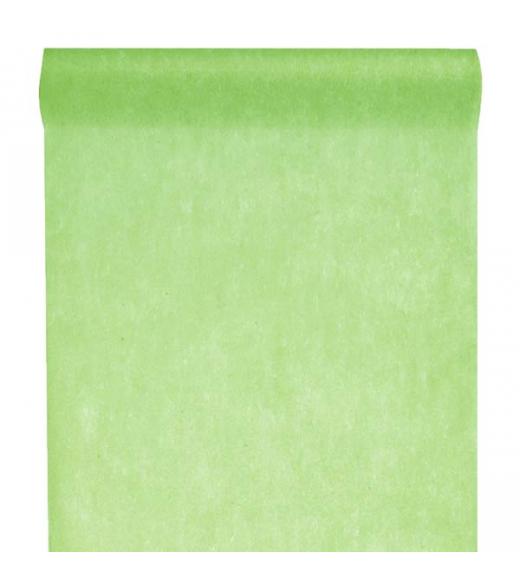 Limegrøn bordløber. 30 cm x 10 m
