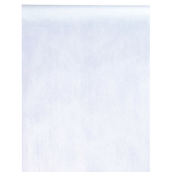 Hvid bordløber. 30 cm x 10 m