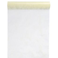 Elfenben bordløber. 30 cm x 10 m
