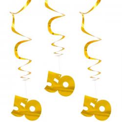 Guirlande guld 50
