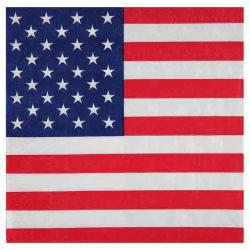 USA servietter. 20 Stk. 33 x 33. cm