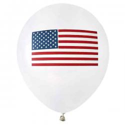 USA Ballon. 8 Stk. 23 cm