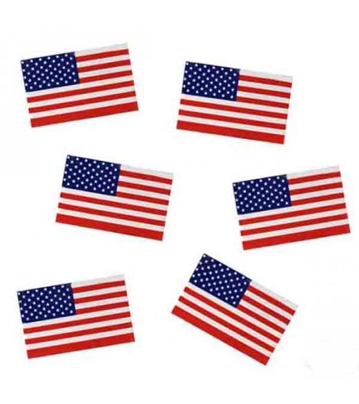 USA Strø flag. 50 stk