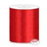 Rød satinbånd 100 mm x 25 Meter