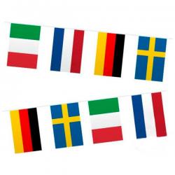 Europa flagbanner. 10 Meter