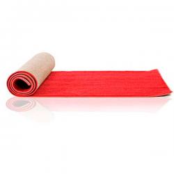Rød løber filt. 1 m bred. Metermål