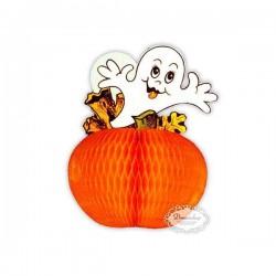 Lille spøgelse orange væv 12,5 cm