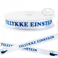 Blåt bånd Tillykke Einstein 16 mm x 20 m