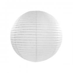 Hvid lanterne 25 cm