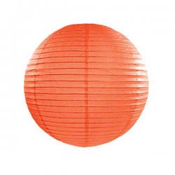 Orange lanterne 25 cm