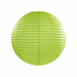 Limegrøn lanterne 25 cm