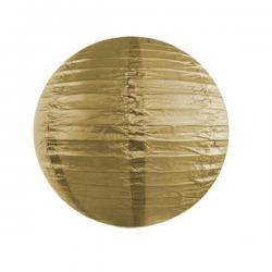 Guld lanterne 25 cm