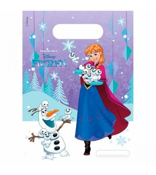 6 stk Slikposer Frost snowflakes