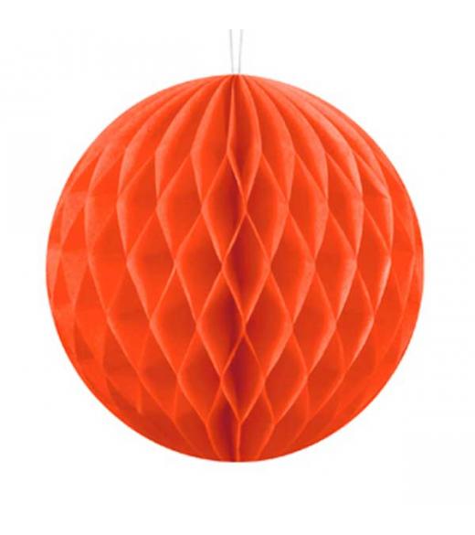 Orange Honeycomb 30 cm 1 stk