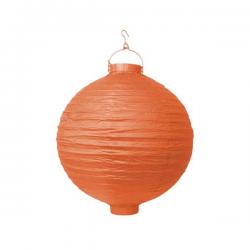 Orange LED lanterne 20 cm