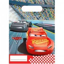 Disney Cars 3 slikposer 6 stk