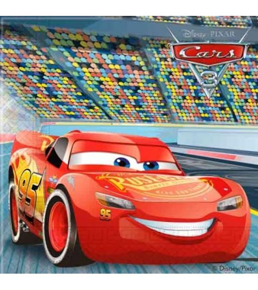 Disney Cars 3 Servietter 20 stk