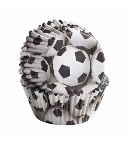 36 Stk Fodbold muffinsforme