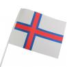 Færøsk Papirflag 25 stk