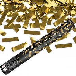 Guld Metalic Konfettirør 40 cm