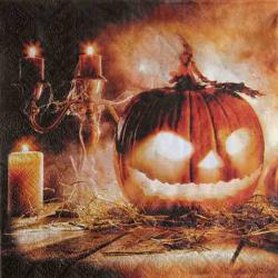 Græskar Halloween servietter
