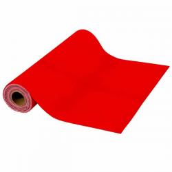 Rød filt gulvløber