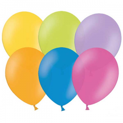 Mix Farver balloner 10 stk