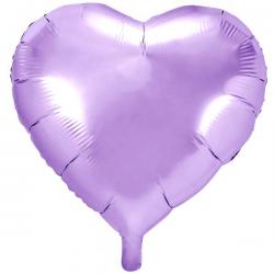 Syren Hjerte Folieballon 61 cm