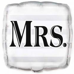 Mrs. Bryllupsballon 45 cm