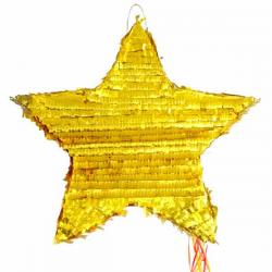 Pinata Guld Stjerne