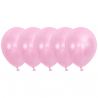 Lyserød Metallic Balloner. 50 stk.
