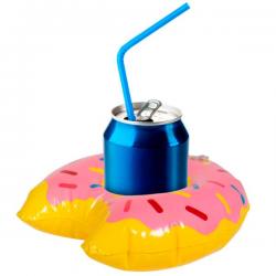 Oppustelig Donut Kopholder