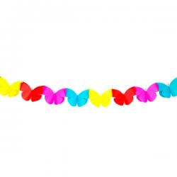 Mini guirlande Sommerfugl