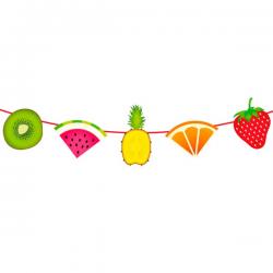 Guirlande Tropiske Frugter