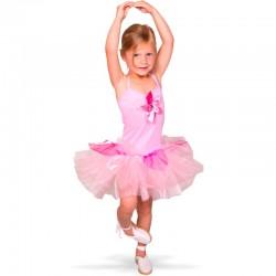 Lyserød Ballerina kjole 6-8 år