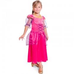 Pink Prinsessekjole 3-5 år