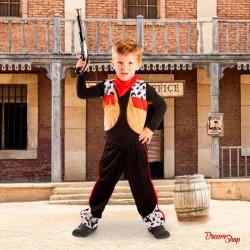 Udklædning cowboy kostume 3-5 år