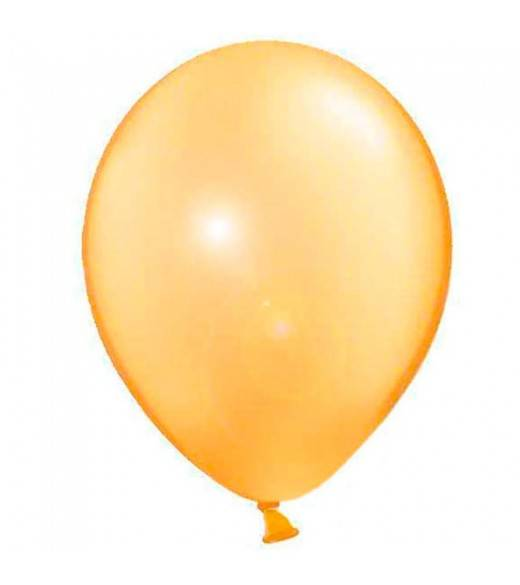 Guld metallic Balloner. 10 Stk.