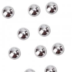 Sølv perler flade. 300 Stk