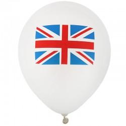 Engelsk flag balloner. 8 stk