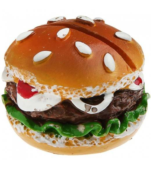 USA Bordkortholder Burger. 2 Stk