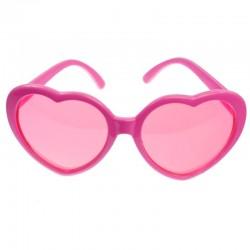 Pink hjerte briller